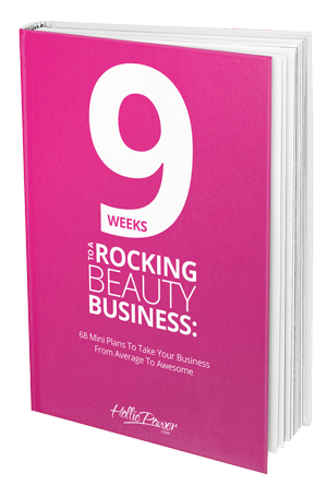 9 Weeks To A Rocking Beauty Business