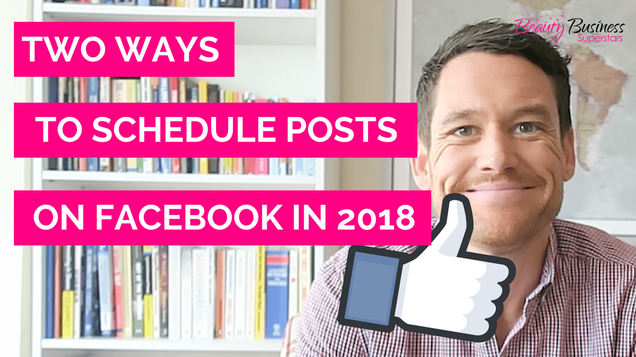 How To Schedule Facebook Posts 2018 thumbnail