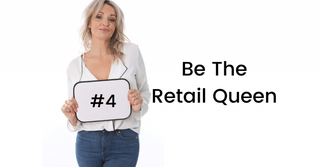 Be the retail queen during lockdown